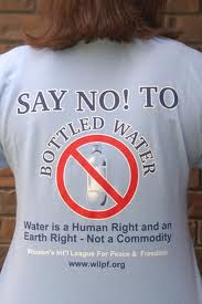 cost of bottled water