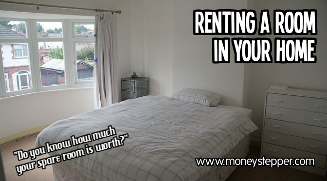 Renting a room in your home extra money