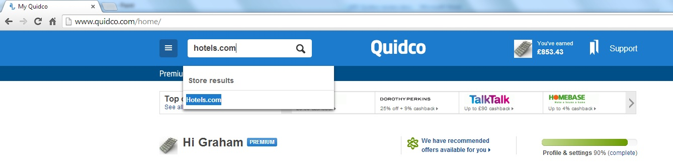 Quidco Review - Earn Online Cashback - Sign-up Today