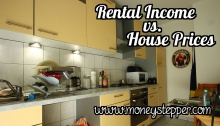 Rental Income vs House Prices.