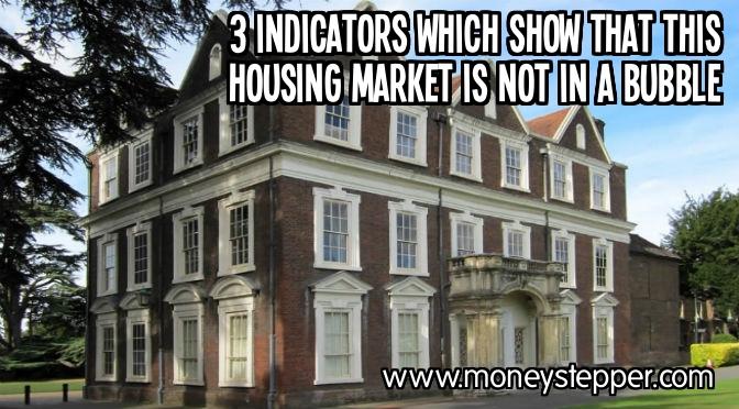 Housing market not in bubble