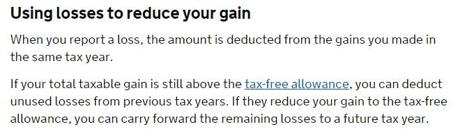 Forex loss capital alloawnce
