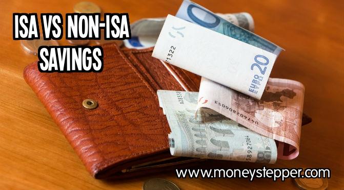 ISA vs non-ISA savings account