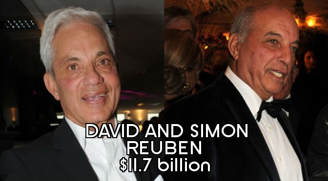 Richest People in England - David and Simon Reuben Final