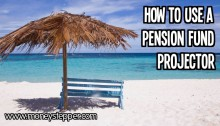 How to use a pension fund projector