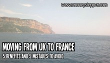 Moving from UK to France