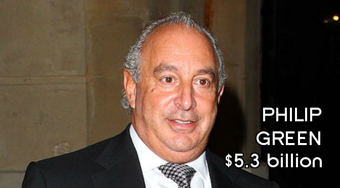 Richest People in England - Philip Green Final