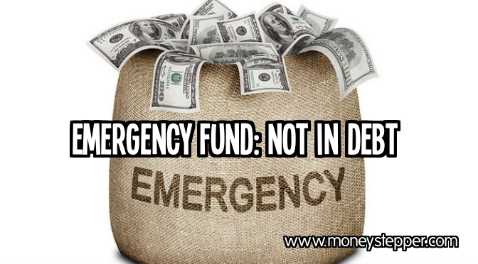 Emergency Fund Not In Debt