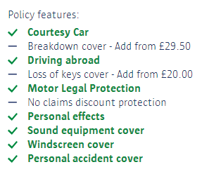 Shopping around for car insurance 1