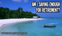 Am i saving enough for my pension