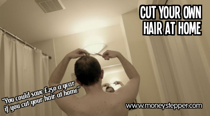 Cut your own hair at home