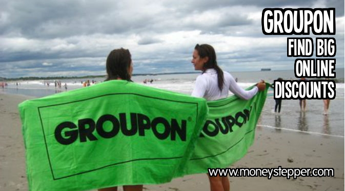 Find big online discounts with Groupon