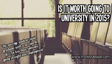 Is it worth going to university in 2015