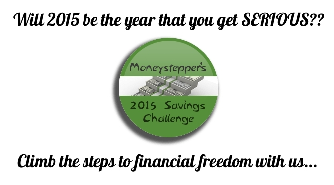 Moneystepper 2015 Savings Challenge