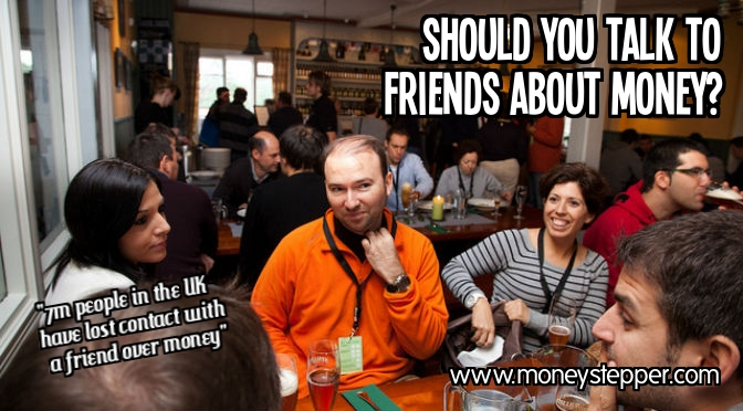 Should you talk to friends about money?