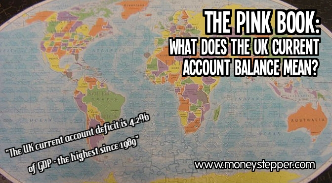 The Pink Book: UK Current Account Balance