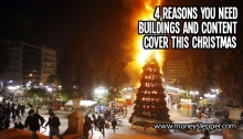 4 reasons you need buildings and contents cover this christmas