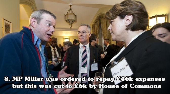 MP expenses scandal - Maria Miller Expenses