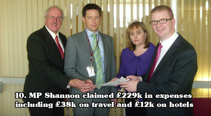 MP expenses scandal - Jim Shannon Expenses