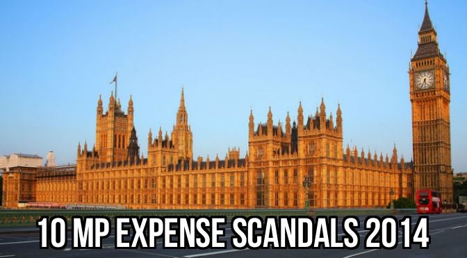 MP Expenses Scandals Cover 2