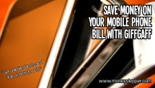 Save Money Mobile Phone Giffgaff