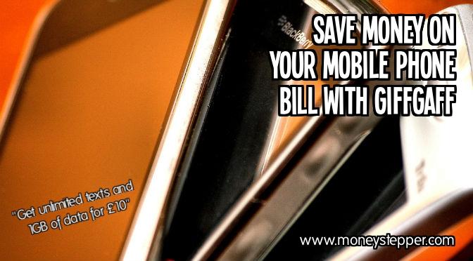 Save Money Mobile Phone Giffgaff