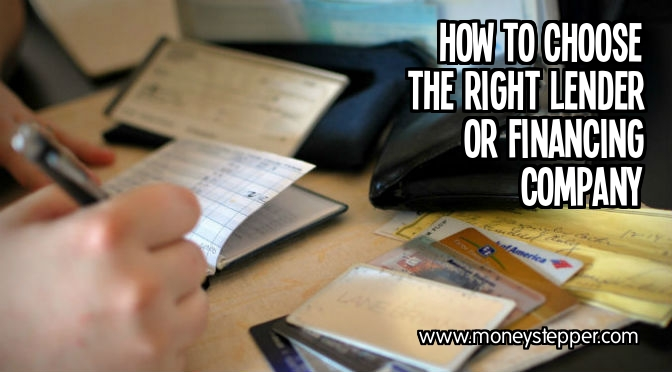Ways to Choose the Right Lender