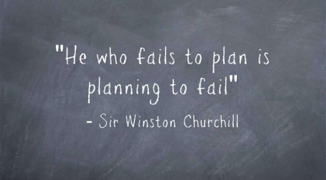 Plan to Fail