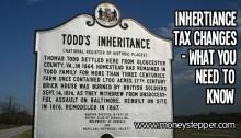 Inheritance Tax Change