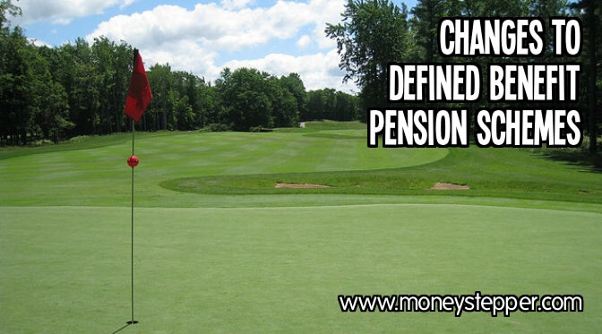 Changes to defined benefit pension scheme