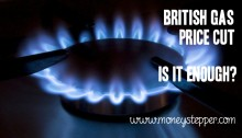 British Gas Price Cut