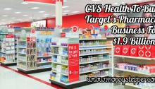 CVS Health To Buy Pharmacy For $1.9bn