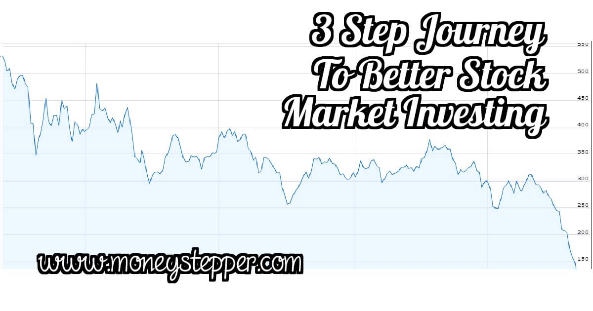 Moneystepper's 3 Steps To Becoming A Better Stock Market Investor
