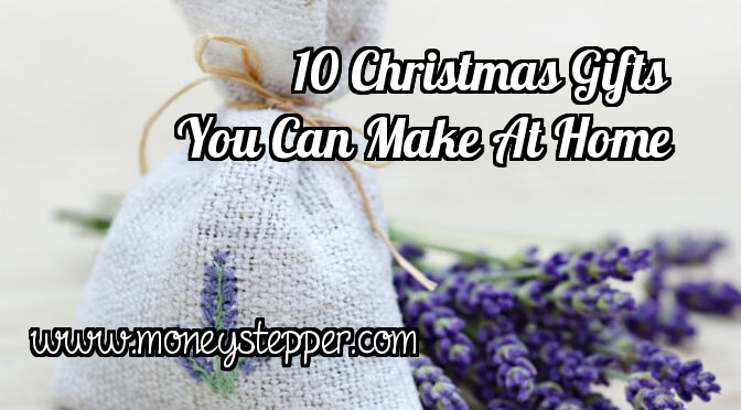 10 christmas gifts you can make at home