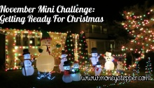 November Mini Challenge Getting Ready For Christmas