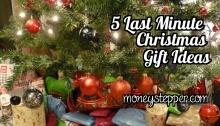 5 Last Minute Christmas Gift Ideas