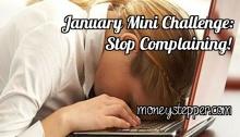 January Mini Challenge