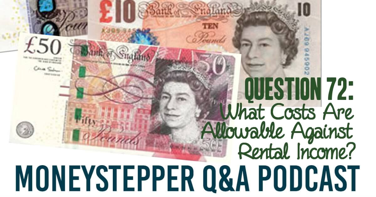 Question 72 - hat expenses can I offset against property profits