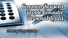 Common Reasons People Consider Personal Loans