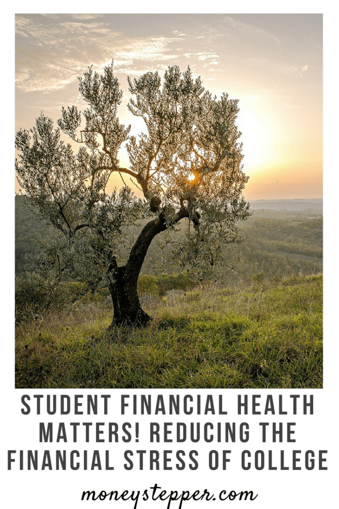 Student Financial Health Matters! Reducing the financial stress of college. Today is #FinHealthMatters Day and we have partnered with CFSI to discuss financial health and how it can affect college students in particular.