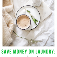Save money on laundry: are you doing your laundry too often?