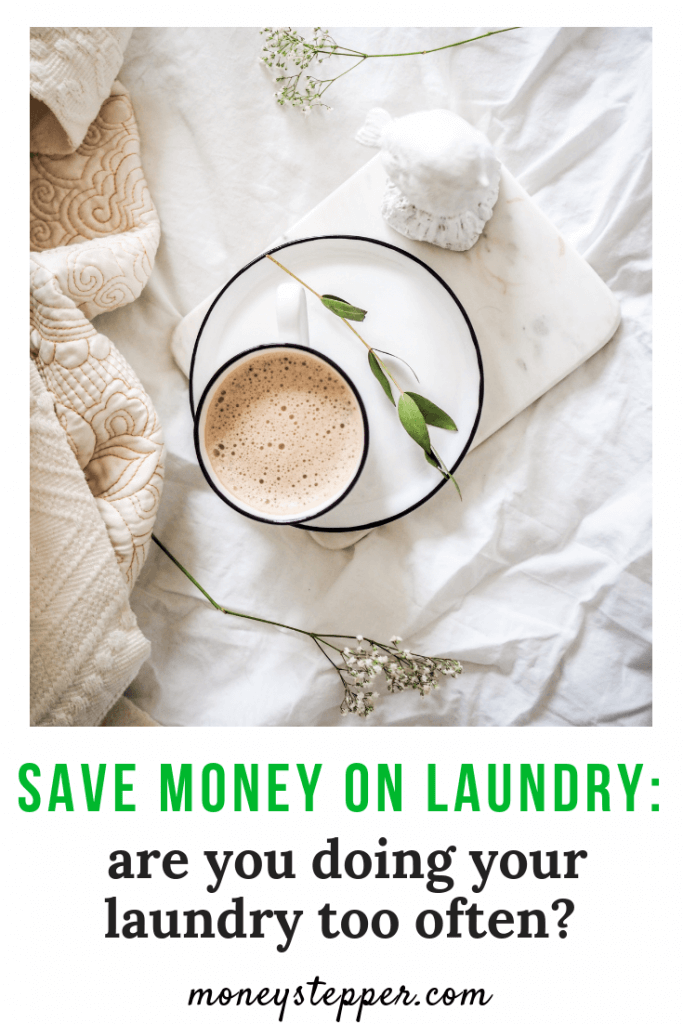 Save money on laundry: are you doing your laundry too often? Today, let's look a how we can save money on laundry by washing towels and linen less frequently… #savingtips #savemoney #frugalliving