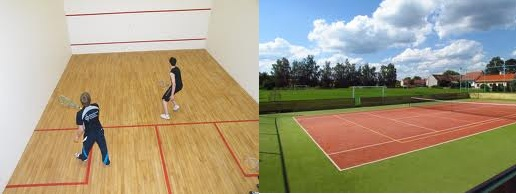 Alternatives to the gym - tennis