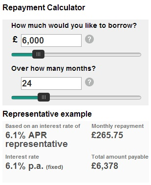 Taking out a loan - HSBC