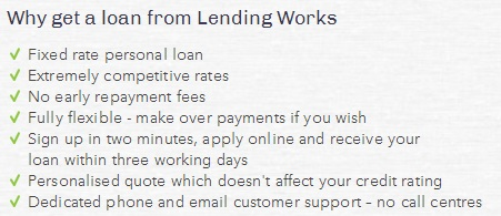 Taking out a loan - Lending Works 2