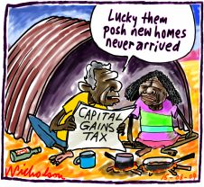 Capital Gains Tax Posh Homes