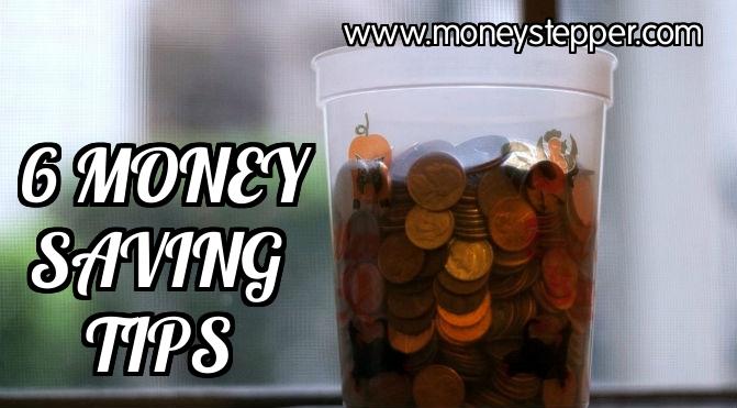 6 Money Saving Tips cover
