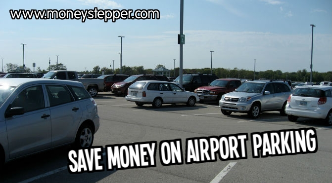 Save money on airport parking