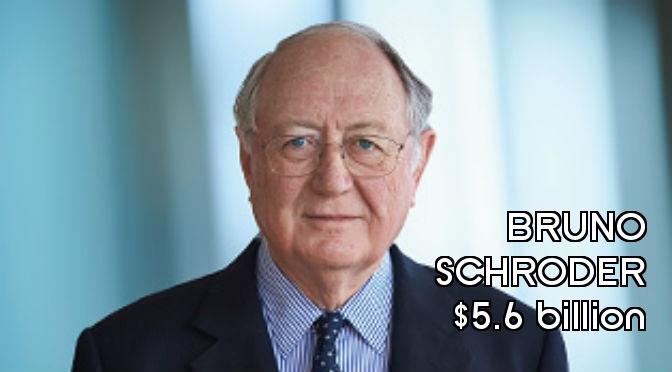 Richest People in England - Bruno Schroder Final
