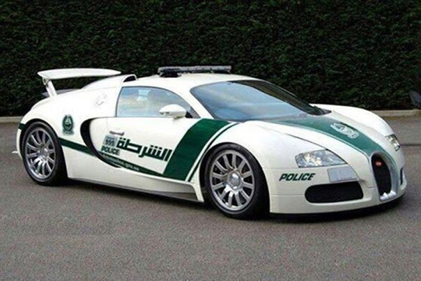 Moving to Dubai from UK - Police car